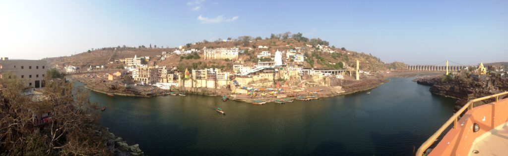 Omkareshwar: View of the island