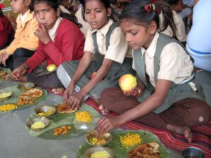 Lunch together - an essential motive for the parents...