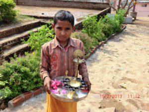 Zubehör für die tägliche Puja